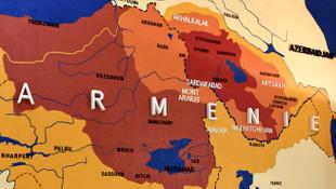 Fransa'dan skandal harita: Türk topraklarını Ermenistan'a kattılar!
