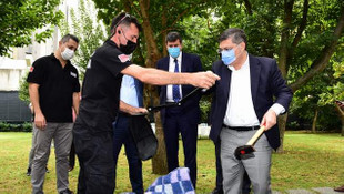 Kadıköy Kaymakamı Özarlsan'dan ''Afet Parkı'' ziyareti