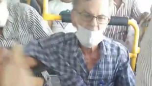 Otobüste sosyal mesafe kavgası! Yanından kalkmasını isteyince olanlar oldu