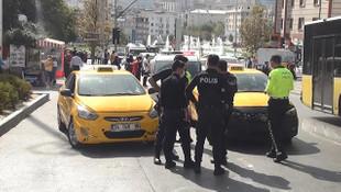 Esenyurt'ta bıçaklı taksici kavgası
