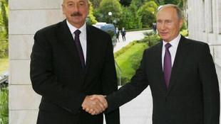 Aliyev ve Rusya Devlet Başkanı Putin görüştü