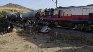 Yozgat'ta yük trenleri çarpıştı! AFAD olay yerinde