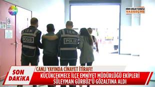 Didem Arslan Yılmaz'la Vazgeçme'de canlı yayında gözaltı