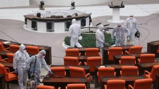Meclis'te koronavirüs alarmı!