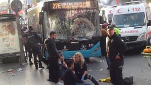 Beşiktaş'taki otobüs faciasında kahreden sözler: Canlı bomba sandım