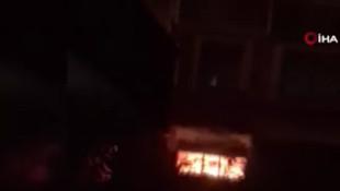 Gaziosmanpaşa'da 5 katlı binanın bodrumundaki tüpler patladı