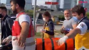 İstanbul metrosunda intihar girişimi