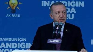 Cumhurbaşkanı Erdoğan: Bu değişim selinin önüne set kurmaları mümkün değil