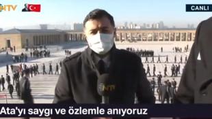 10 Kasım'da gazeteciler canlı yayında Anıtkabir'den kovuldu!