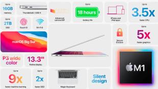 Apple 13 inç'lik MacBook Air'i tanıttı
