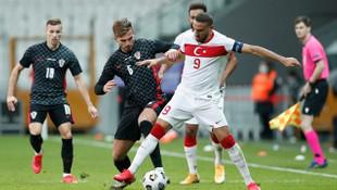 Türkiye-Hırvatistan maçında gol yağmuru