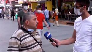 Sokak röportajında AK Parti'yi eleştirdi, tutuklandı