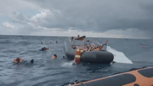 Akdeniz'de mültecileri taşıyan bot battı: 6 ölü