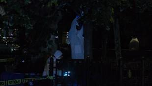 Sirkeci'de korkunç olay! Ağaca asılı erkek cesedi bulundu