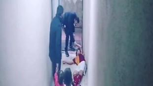 Acı olay! 13 yaşındaki çocuğun ölümü kameralara yansıdı