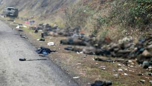 Her yer ceset dolu! Dağlık Karabağ'dan çarpıcı görüntüler
