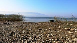 Sapanca Gölü'nde korkutan görüntü