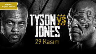 Mike Tyson - Roy Jones Jr Maçı S Sport Plus'ta!