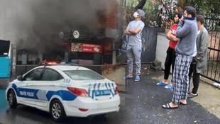 İstanbul'da yangın paniği! Öğrenciler tahliye edildi