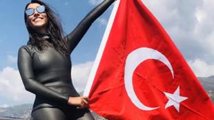 Fatma Uruk bir dünya rekoruna daha imza attı