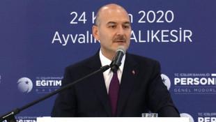 İçişleri Bakanı Soylu: Kadına vuracağına kendine vur