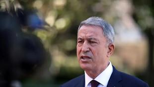 Bakan Akar'dan Türk gemisinin aranmasına tepki