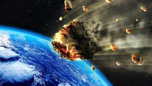 NASA tarih verdi! Dev göktaşı Dünya'ya yaklaşıyor
