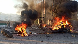 Afrin'de bombalı araç patladı: 2 ölü, 17 yaralı