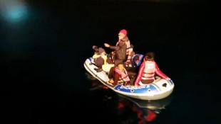 Bodrum'da facianın eşiğinden dönüldü! 11 düzensiz göçmen kurtarıldı