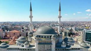 Taksim'e yapılan camide sona doğru! Açılış tarihi belli oldu