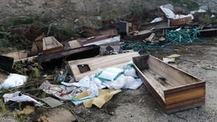 Ankara'dan sonra Denizli'de koronavirüs skandalı! Yol kenarında bulundu