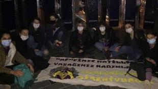 Kadınların 25 Kasım yürüyüşüne polis ablukası