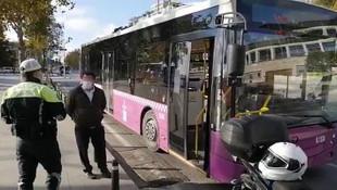 İstanbul'da koronavirüslü Özel Halk Otobüsü şoförü seferde yakalandı