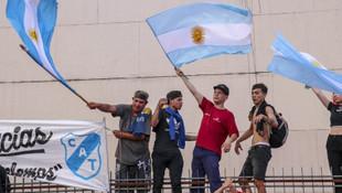 Gözyaşları sel oldu! İşte Arjantin'in Maradona'ya vedası
