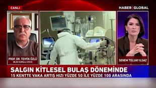 28 bin 351 vaka ile ilgili Prof. Dr. Tevfik Özlü'den açıklama