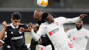 Sivasspor, Avrupa Ligi'nde Karabağ'ı 3-2 yendi