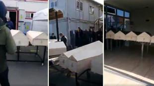 Burası İstanbul... Gasilhanede çekilen görüntüler infial yarattı