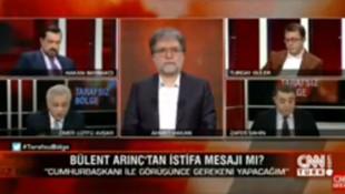 CNN Türk canlı yayınında skandal!