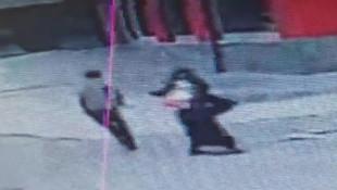 İstanbul'da kapkaççı dehşeti kamerada