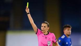 Şampiyonlar Ligi maçına kadın hakem