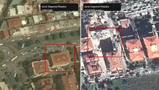 İzmir'deki depremin ve tsunaminin uzay görüntüleri yayınlandı