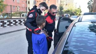 12 yaşındaki hırsız polisi bile hayrete düşürdü