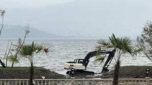 Sapanca Gölü'nde tepki çeken olay!