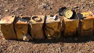 Bitlis'te 100 kg patlayıcı madde ele geçirildi