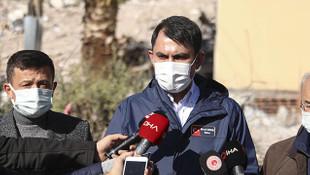 Bakan Kurum'dan İzmir depremine ilişkin son açıklama