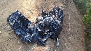 Yer: Edirne... Çöp poşetinden vahşet çıktı!