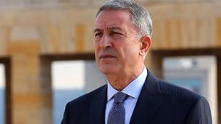 Milli Savunma Bakanı Akar'dan 10 Kasım mesajı