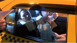 Taksiye maskesiz binen turiste ceza!