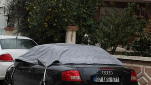 Meteoroloji'den turuncu alarm! Araçları korumaya aldılar