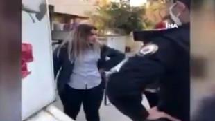 Polisleri tehdit eden kadına CİMER'den cevap